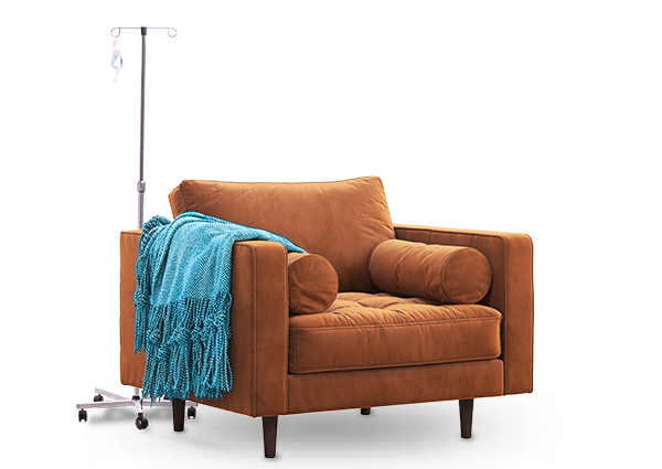 chair with iv